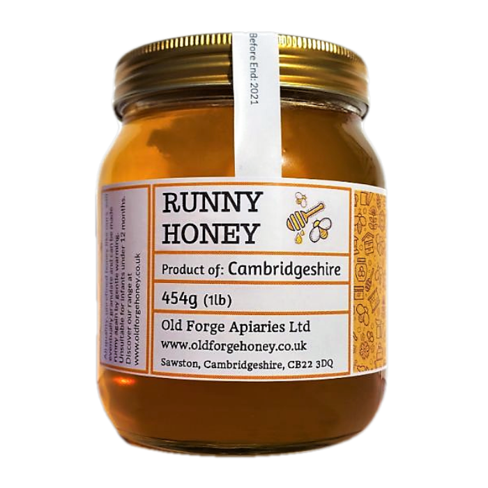 Cambridgeshire Honey 454g (1lb) – Runny