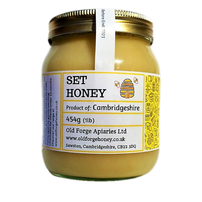 Cambridgeshire Honey 454g (1lb) – Soft Set