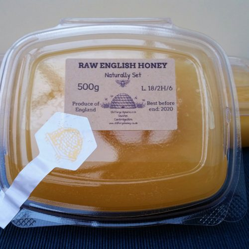 Cambridgeshire Ivy Honey 500g – Raw Naturally Set