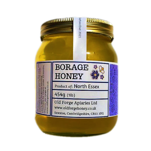 Essex Borage Honey 454g (1lb) – Runny