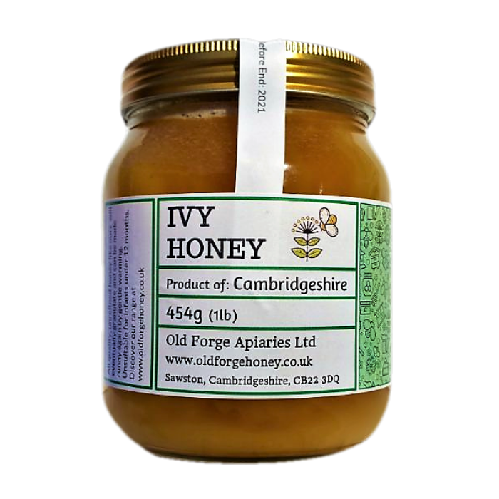 Cambridgeshire Ivy Honey 454g (1lb) – Raw Naturally Set
