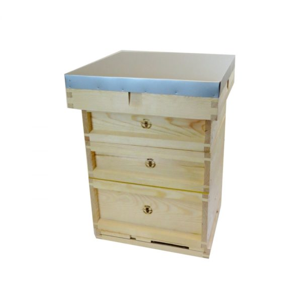 Complete B.S National 14×12 Wooden Hive (Assembled, Pine)