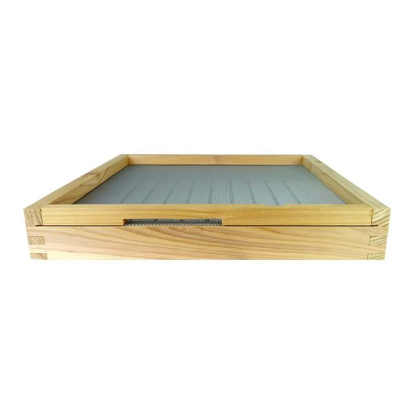 B.S National Open Mesh Floor with Drawer and Entrance Block (Flat, Cedar)